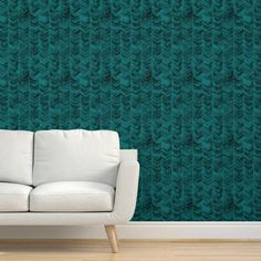 Herringbone Wallpaper - Watercolor Chevron Teal by liz_sawyer_design - Modern Home Watercolor Teal Chevron Wallpaper Roll by Spoonflower Herringbone Wallpaper, Chevron Wallpaper, Modern Wallpaper, Perfect Wallpaper, Custom Wallpaper, Of Wallpaper, Peel And Stick Wallpaper, Paint Chevron, Accent Wall Colors