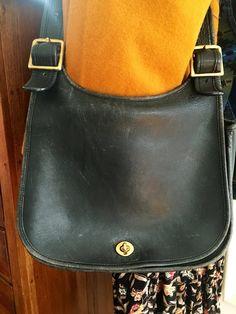 Vintage Coach Shoulder Handbags Leather Purses Totes