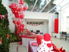 13th Birthday Party Red White I Would Do Turquoise And Decorations At Home12th