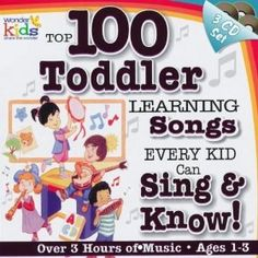 100 Toddler Learning Songs This is a fun way to learn...