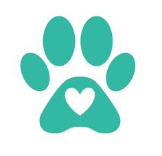 Paw Print Decal, Dog Decal, Dog Print Heart, Personalized Paw Print, Animal Decal, Dog Car Decal, Vinyl Decal, Dog Love, Animal Paw by BrownEyedCuties on Etsy
