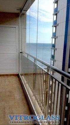 Cerramientos de Terraza en Calpe Porches, Small Balcony Garden, House Elevation, Balcony Design, Conservatory, Pergola, Condo, New Homes, Villa