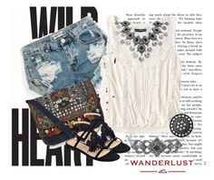 Winter Wanderlust with American Eagle: Contest Entry by bianca-2904 on Polyvore featuring moda, American Eagle Outfitters, One Teaspoon, Marc Fisher LTD, Accessorize and aeostyle