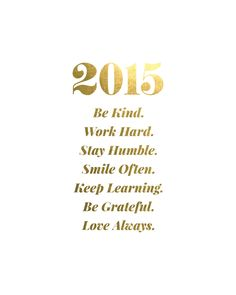 Happy New Year from Swell Made Co. It's time to focus on the simple things.