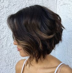 Inverted Bob For Wavy Hair