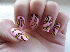 Banana nails...