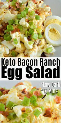 Keto Bacon Ranch Egg Salad