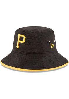 10977871f73 New Era Pittsburgh Pirates Black Spring Training BP 2019 9TWENTY Adjustable  Hat