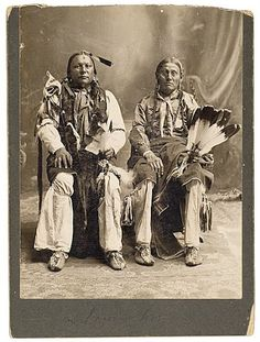 Comanche men - no date