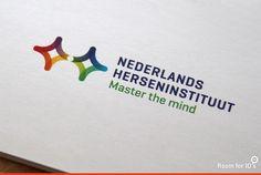 Transformatie van NIN naar Nederlands Herseninstituut #logo #roomforids #visueleidentiteit #roomNHI