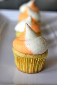 Baked Perfection: Creamsicle Cupcakes