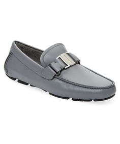 c9400ea2219 SALVATORE FERRAGAMO SALVATORE FERRAGAMO LEATHER GRANPRIX LOAFER.   salvatoreferragamo  shoes