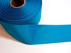 Blue Ribbon,  Blue Teal Grosgrain Ribbon 2 1/4 inches wide x 10 Yards by GriffithGardens on Etsy