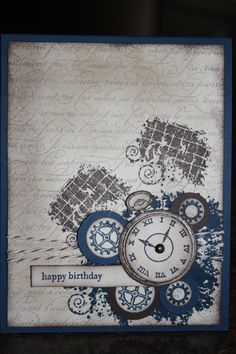 stampin up clockworks card ideas - Google Search