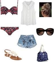 What to wear to the beach or maybe by the pool somewhere on your holiday!