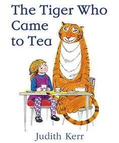 The Tiger Who Came To Tea Book