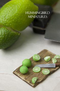 Scale miniature food by Caroline McFarlane-Watts