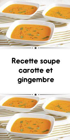 Recette soupe carotte et gingembre ww un délicieux velouté de légumes pour votre dîner. une recette Weight Watchers facile et pour toute la famille. Weith Watchers, Cantaloupe, Fruit, Menu, Food, Light Recipes, Beauty Tutorials, Nursing Care, Eten