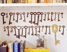 Ideas para decorar con colecciones de objetos curiosos 4
