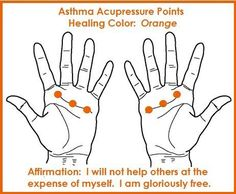 Color Acupressure for Asthma balancedwomensblog.com