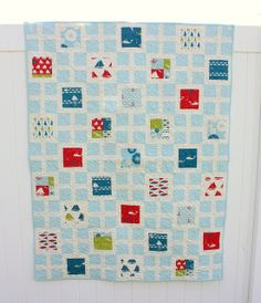 Another easy charm quilt idea