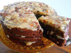 Vegan Heartland: Decadent German Chocolate Cake