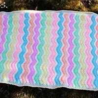 Crochet baby blanket, inspired by #thepatchworkheart.