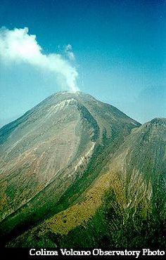 Colima Volcano, State of Jalisco, Mexico