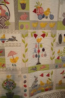Moda... the Cutting Table: Bunny Hill Designs Newest Block of the Month