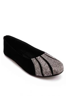 Grey & Black Suede Leather Women Casual Ballet Flat Shoes – COD, Free Shipping & 7-Day Returns | Daraz.pk