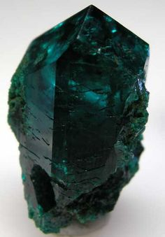 More Dioptase from Namibia...stunning color.