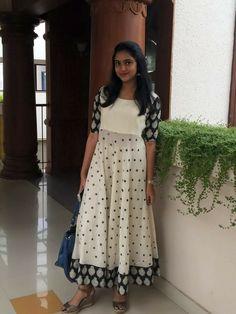 Indian Designer Outfits, Indian Outfits, Designer Dresses, Kalamkari Dresses, Ikkat Dresses, Kurta Designs Women, Salwar Designs, Dress Neck Designs, Blouse Designs