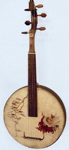 banjo antique vintage music