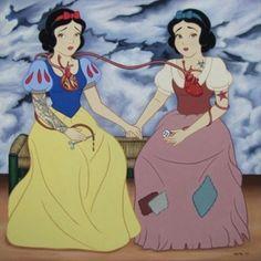 princesas y frida kahlo