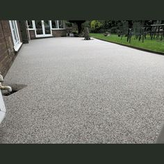 """Customer Response: """"The quality of the product is superb & looks brilliant. The team did a great job & left the area looking like none had been working there."""" Resin Gravel, Resin Driveway, Stone Path, Swansea, South Wales, Paths, Sidewalk, Side Walkway, Walkway"""