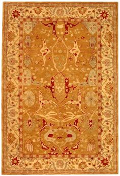 Anatolia Collection brings old world sophistication and quality in new tufted rugs. This collection captures the authentic look and feel of the decorative rugs made in the late 19th century in this region. Hand spun wool and an ancient pot dying...