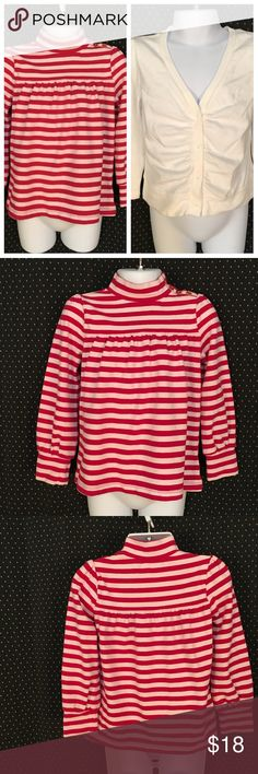Bundle of Baby Gap Tops Red & White Size 4Y Brand: Baby Gap Size: 4Y Description: Cute top and cardigan Condition: Good If measurements are needed, please don't hesitate to ask! Bundle Discount Available! Reasonable offers welcome! No trades please.. Thanks for stopping by!! #Poshmark #Poshmarkapp #Poshmarkcloset Item #2095 Gap Shirts & Tops Tees - Long Sleeve