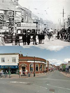 Bristol Then & Now - Bedminster