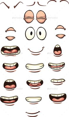 how to draw a smiling mouth easy