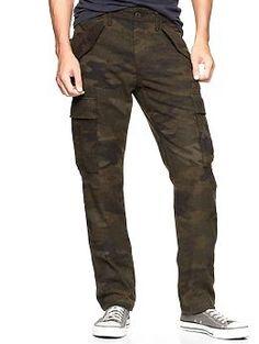 Gap x GQ Mark McNairy Wool Cargo Trousers | Gap