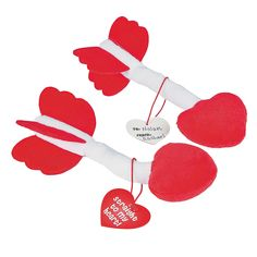 Plush Arrows with Card - OrientalTrading.com