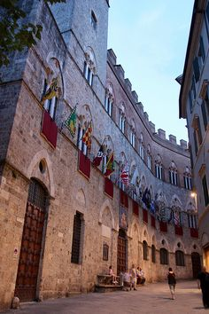 Palazzo Chigi-Saracini, Siena, Toscana - Italy