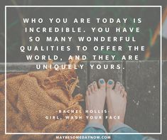 "Inspiration From the Popular Trending Book, ""Girl, Wash Your Face popular book quotes - Popular Quotes Quotes About Self Care, Self Quotes, Work Quotes, Life Quotes, Quotes Quotes, Daily Quotes, Rachel Hollis, Popular Quotes, Popular Books"