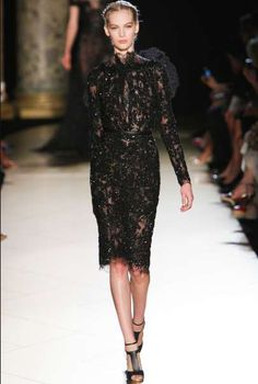Skin-Grazing Beaded Gowns - The Elie Saab Fall 2012 Couture Collection is Magnificent (GALLERY)#!/photos/159153/2