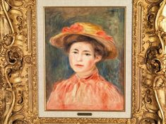 Pierre-Auguste RENOIR - FEMME AU CHAPEAU | lot 9 | Importants Tableaux Modernes et Contemporains at Kohn