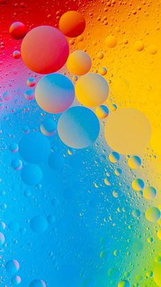 Colorful Bubbles wallpaper by pramucc - - Free on ZEDGE™ Hd Wallpaper Android, Colourful Wallpaper Iphone, Iphone Homescreen Wallpaper, Hd Phone Wallpapers, Samsung Galaxy Wallpaper, Apple Wallpaper Iphone, Cellphone Wallpaper, Movies Wallpaper, Cats Wallpaper