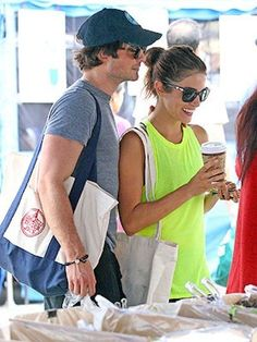Ian Somerhalder and Nikki Reed: Dating? if he HAS to be with someone...I guess i'm okay with her lol