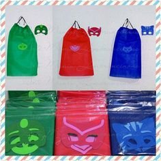 Festa Pj Masks, Hi Gorgeous, Kit, Minnie, Shower Party, 4th Birthday, Party Favors, Parties, Dress