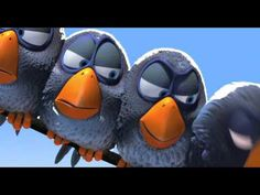 "Yay for Pixar! - Yay for Pixar! pixar short ""for the birds"" Disney Pixar, Walt Disney, Disney Birds, Disney Music, Film Gif, Film D'animation, For The Birds Pixar, Pixar Shorts, Drawing Conclusions"