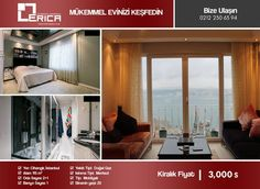 Our full luxury ultra luxury apartment where you can drink your coffee in your home and enjoy the magnificent Bosphorus view in Cihangir area which is waiting for your new renter ... For more information please do not hesitate to contact us... Bize Ulaşın @ 0212 230 63 94